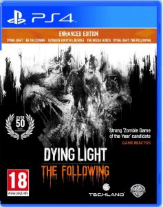 Dying Light the Following Enhanced Edition PS4 Usado