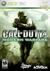 Call of Duty 4 Modern Warfare Xbox 360 Usado