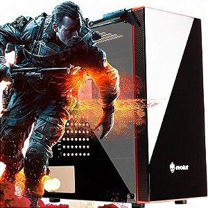 Computador Shooter Hybrid  AMD Ryzen 1200 Quad Core 3.1Ghz + 4GB DDR4 + HD 1TB + Nvidia GT 1030 2GB DDR5