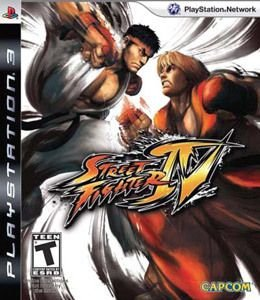 Street Fighter 4 PS3 Usado