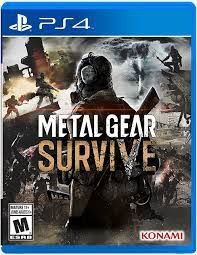 Metal Gear Survive Ps4 Novo Lacrado