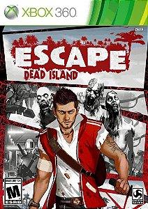 Escape Dead Island Xbox 360 Novo Lacrado