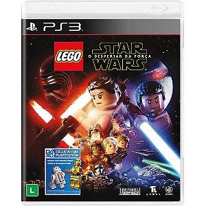 Lego Star Wars The Force Awakens PS3 Novo Lacrado