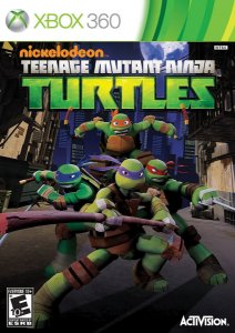 Teenage Mutant Ninja Turtles Xbox 360 Usado