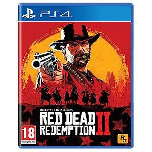 Red Dead Redemption 2 PS4 Novo Lacrado