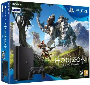 Console PS4 500GB Slim Horizon Zero Dawn
