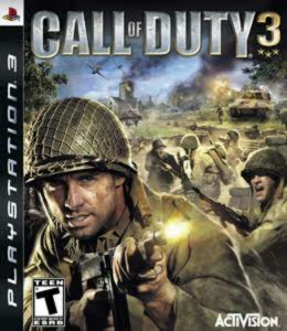 Call of Duty 3 PS3 Usado
