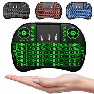 Mini Teclado Com Led Pc Ps3 Xbox Tvbox