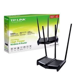 Roteador TP-Link N 450Mbps High Power - TL-WR941HP Atravessa Parede