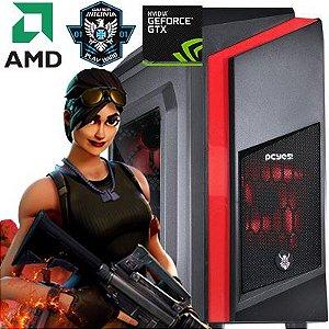 Computador Sniper AMD Ryzen 1200 Quad Core 3.1Ghz + 4GB DDR4 + SSD 240 + Nvidia GTX 1050 2GB DDR5