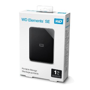 HD Externo Portátil WD Elements 1TB USB 3.0 Preto
