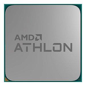 PROCESSADOR AMD ATHLON 200GE 2C/4T 3,2GHZ 35W 5MB AM4 RADEON RX VEGA 3 OEM + COOLER