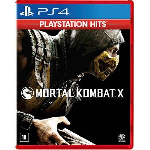 Mortal Kombat X PS4 Novo Lacrado
