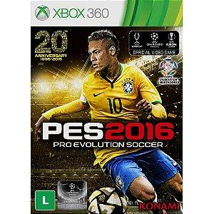 Pes 2016 Xbox 360 Usado