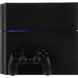 Console PS4 500GB Slim + Uncharted 4 Semi Novo