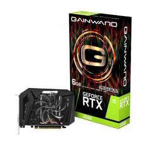 Placa de Vídeo Gainward GeForce RTX 2060 6GB GDDR6 - NE62060018J9-161F
