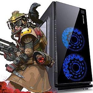 Computador Shooter AMD Ryzen 1200 Quad Core 3.1Ghz + 4GB DDR4 + HD SSD 240GB + RX 570 4GB DDR5 256bits