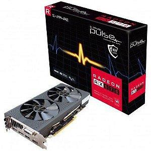 Placa de Vídeo Sapphire Radeon RX 570 Pulse 8GB GDDR5 256-bit PCI Express