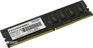 Memória Patriot 4GB DDR4 2400 Mhz