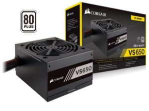 Fonte Corsair VS650 650W 80 Plus White