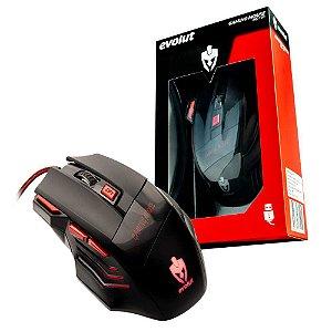 Mouse Gamer Evolut EG-101 1600 DPI 7 BOTOES