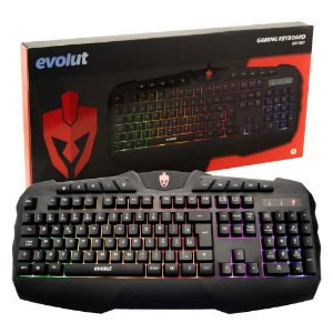Teclado Gamer Evolut EG-201 LED RGB