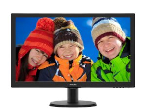 MONITOR PHILIPS 23.6 POL. LED FULL HD 243V5QHAB Vesa