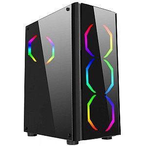 Gabinete Gamer Liketec Streamer RGB
