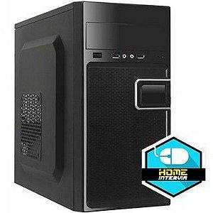 Computador Plus2 Core i3 8100 3.6Ghz 8ª Geração + 4GB DDR4 + SSD 240GB + Gabinete.