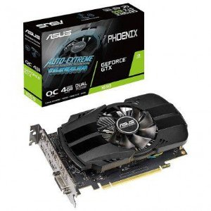 Placa de Vídeo Asus Geforce GTX 1650 4GB DDR5 128 Bit PH-GTX1650-O4G