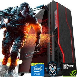 Computador Intervia AMD Ryzen 5 1600 3.20Ghz Six Core+ 8GB DDR4 + 1TB + GTX 1650 4GB DDR5