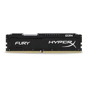 Memoria DDR4 8GB 2666Mhz HyperX Fury Black - HX426C16FB2/8