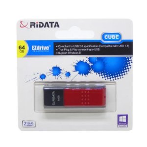 Pendrive 64GB Ridata Cube