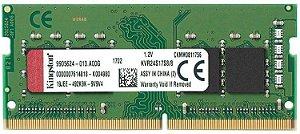 MEMÓRIA 8GB DDR4 2400MHZ PARA NOTEBOOK