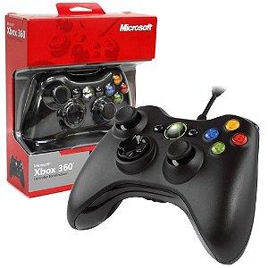 Controle Windows Xbox 360 Microsoft Usb