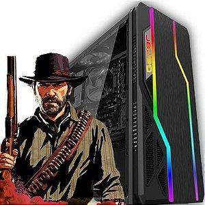 Computador Intervia AMD Ryzen 5 1400 3.20Ghz Quad Core + 8GB DDR4 + SSD 480GB + GTX 1060 3GB DDR5