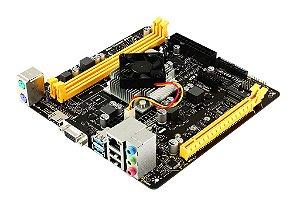 Placa Mãe Biostar A10N-8800E DDR4 + Processador AMD FX-8800P