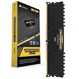 Memória 16GB DDR4 Corsair Vengeance LPX 2400 Mhz CMK16GX4M1A2400C16