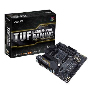 Placa Mãe Asus TUF B450M-PRO GAMING, Chipset B450, AMD AM4, mATX, DDR4