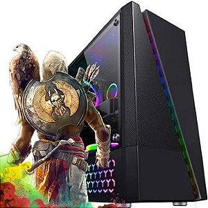 Computador Intervia Galaxian Ryzen 5 3500X 3.60 Ghz Six Core + 8GB DDR4 + SSD 240GB + AMD RX 550 4GB DDR5