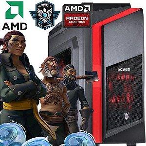 Computador Intervia AMD Ryzen 5 1600 3.20Ghz Six Core + 8GB DDR4 + SSD 240GB  + Ati Radeon RX 560 4GB DDR5