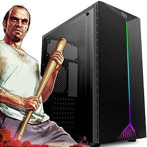 Computador Intervia Core i5 9400F 2.90Ghz 9a. Geração + 8GB DDR4 + SSD 240GB + Ati Radeon RX 460 4GB DDR5