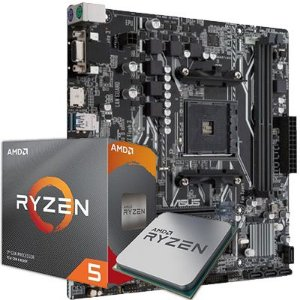 Kit Upgrade, AMD Ryzen 5 3600 3.6GHz AM4, ASUS A320M-K DDR4