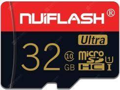 Cartão de Memória Nuiflash 32GB High Speed Classe 10 SDHC + Adaptador SD
