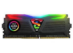 Memória Geil Super Luce RGB, 8GB 3000Mhz DDR4 CL16 - GALS48GB3000C16ASC
