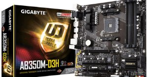 Placa Mãe Gigabyte GA-AB350M-DS3H V2, AMD AM4, mATX, DDR4