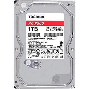 "HD TOSHIBA P300 1TB 3.5"" SATA III 6GB/S, HDKPC32ZKA01"