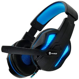 Headset Gaming Evolut Thoth Blue