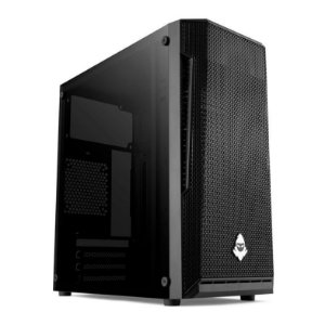 Gabinete Gamer Stealth Black