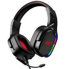 Headset Gamer Havit Preto 7.1 Surround RGB